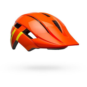 Bell Sidetrack II MIPS Helm Jugend strike gloss orange/yellow